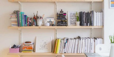 6 Ways to refresh your bookshelf when moving house