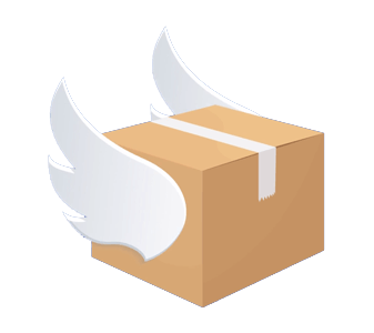 Emerald removalists box with wings
