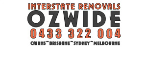 Interstate Removals Ozwide company logo